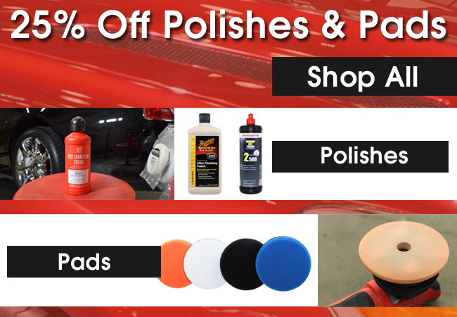 25% Off Polishes and Pads - Shop All