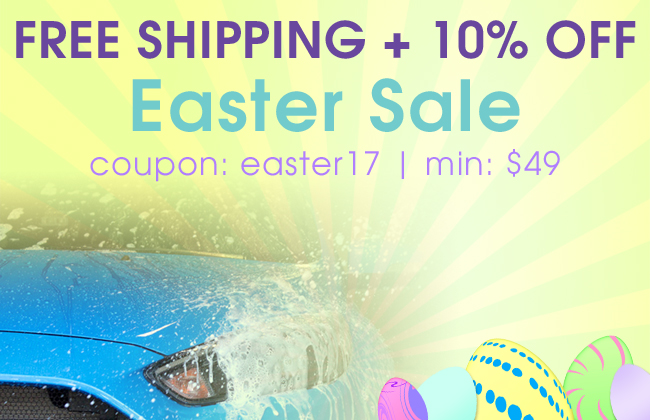 Free Shipping + 10% Off Easter Sale - coupon: easter17 - min: $49