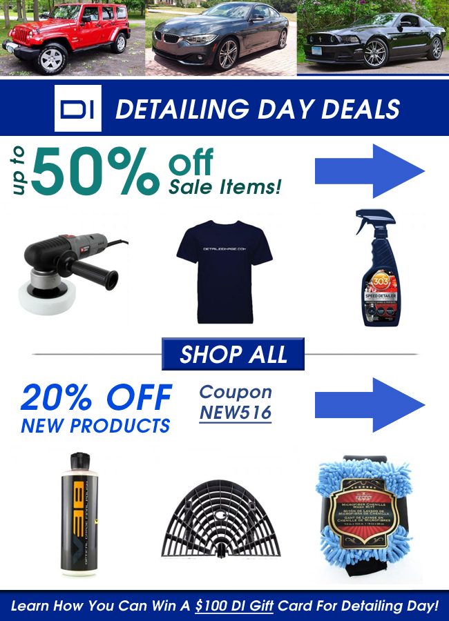 Detailing Day Deals!