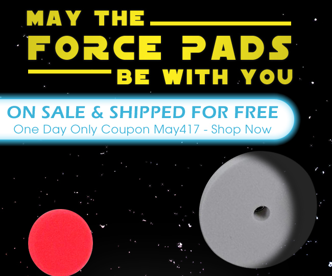 May The Force Pads Be With You, On sale And Shipped For Free - One Day Only Coupon May417 - Shop Now