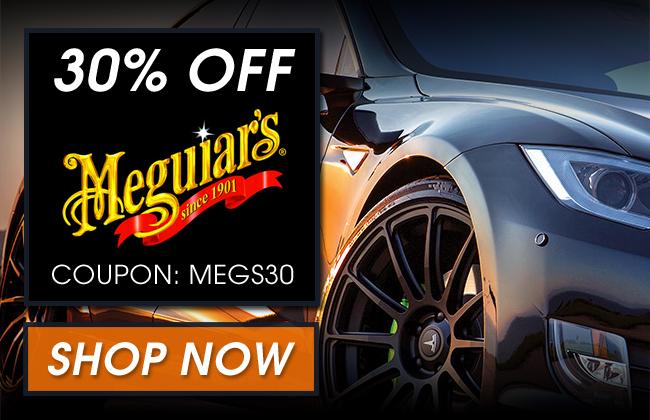 30% Off Meguiar's - Coupon: Megs30 - Shop Now