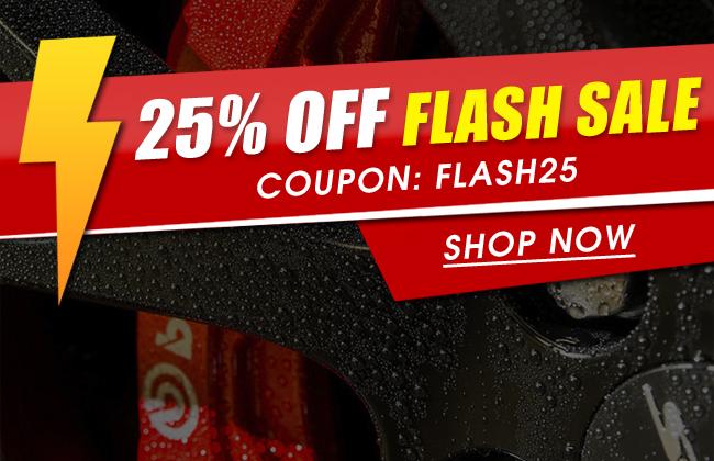 24 Hour 25% Off Flash Sale