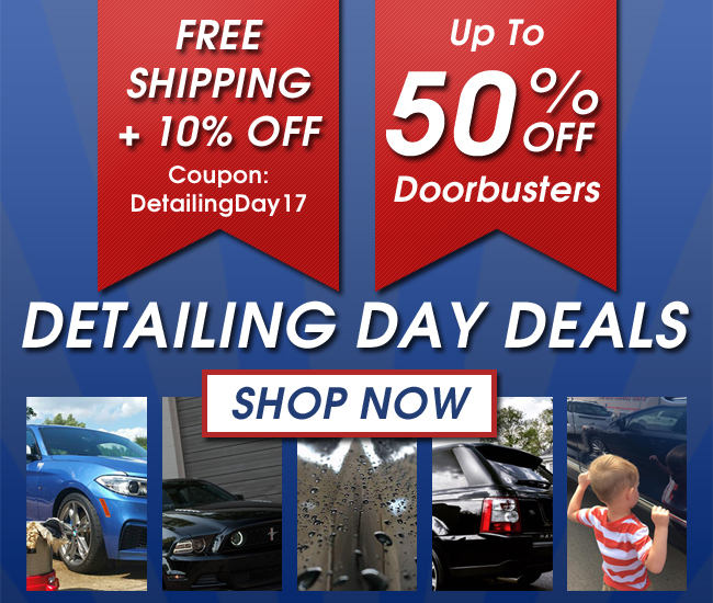 Detailing Day Deals