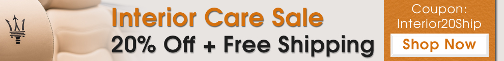 Interior Care sale 20% off + Free Shipping - Coupon: Interior20Ship - Shop Now