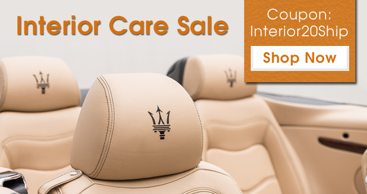 Interior Care sale - Coupon: Interior20Ship - Shop Now
