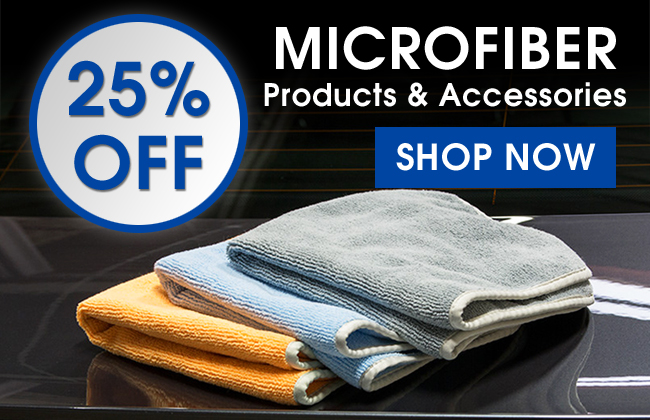 25% Off Microfiber Products & Accessories - Shop Now