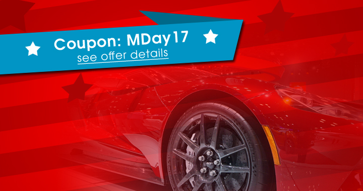Coupon: MDay17 - see offer details