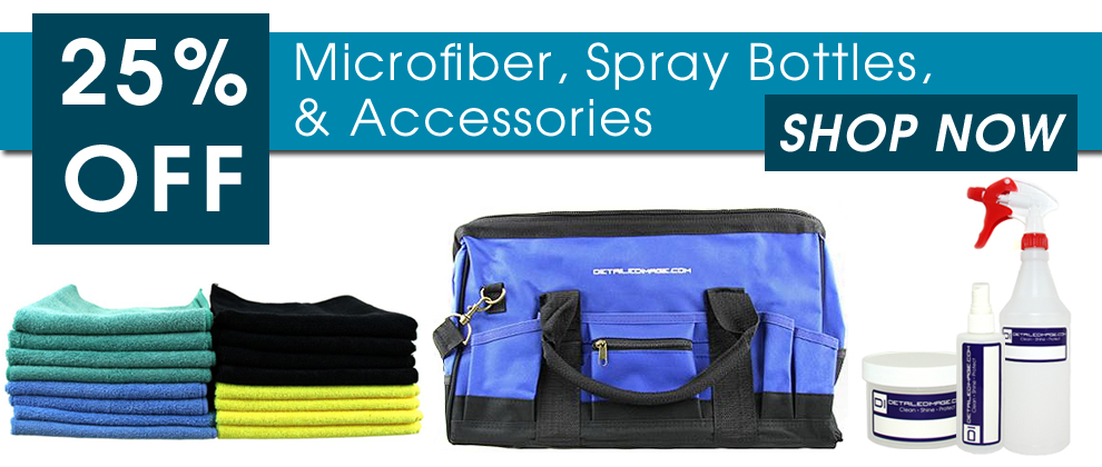 25% Off Microfiber, Spray Bottles, & Accessories - Shop Now