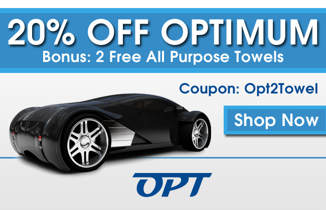 20% Off Optimum - Bonus: 2 Free All Purpose Towels - Coupon: Opt2Towel - Shop Now