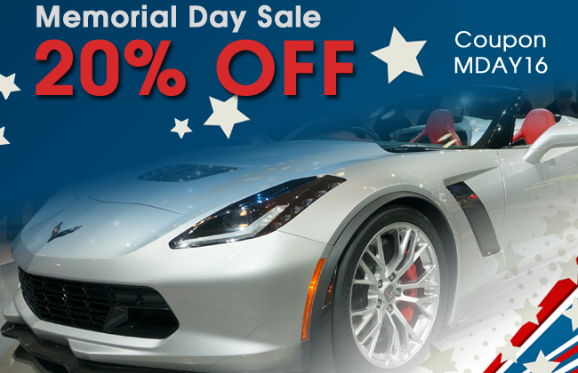 20% Off Memorial Day Sale! Coupon MDAY16