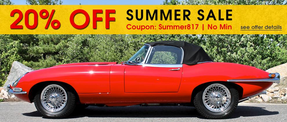 20% Off Summer Sale - Coupon: Summer817 - No Min - see offer details