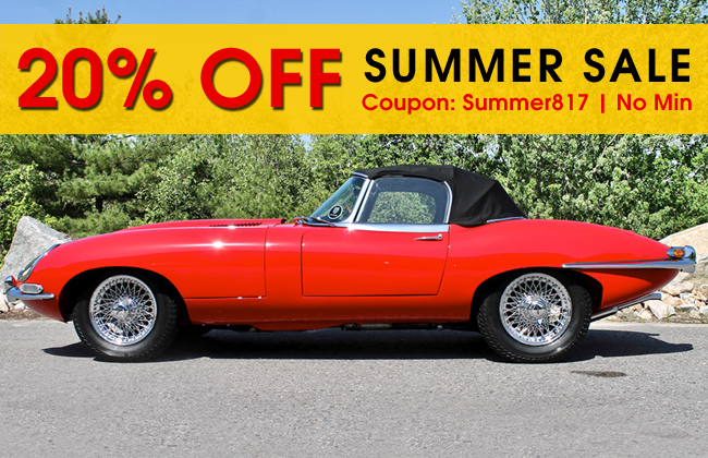 20% Off Summer Sale - Coupon: Summer817 - No Minimum