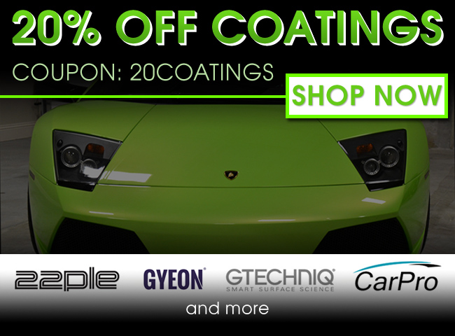 20% Off Coatings - Coupon: 20Coatings - Shop Now