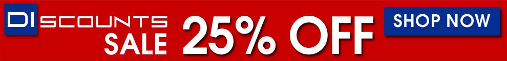 25% Off DIscounts Sale - Shop Now