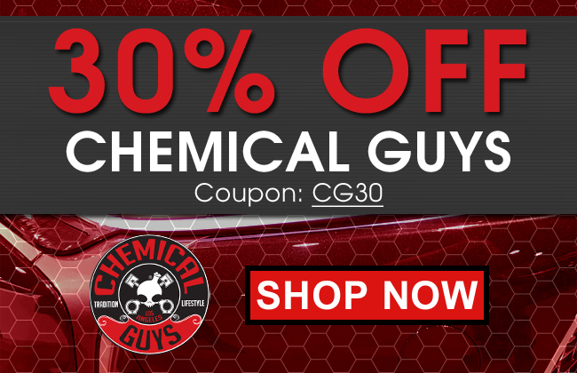 30% Off Chemical Guys - Coupon CG30 - Shop Now