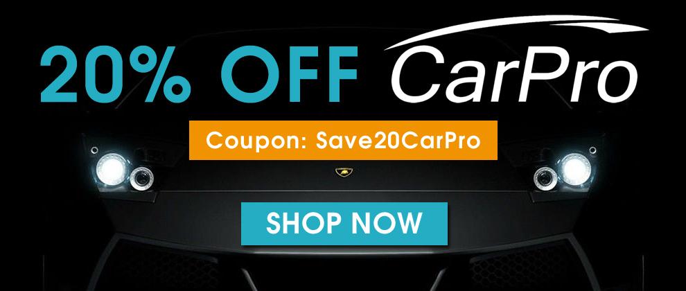 20% Off CarPro - Coupon: Save20CarPro
