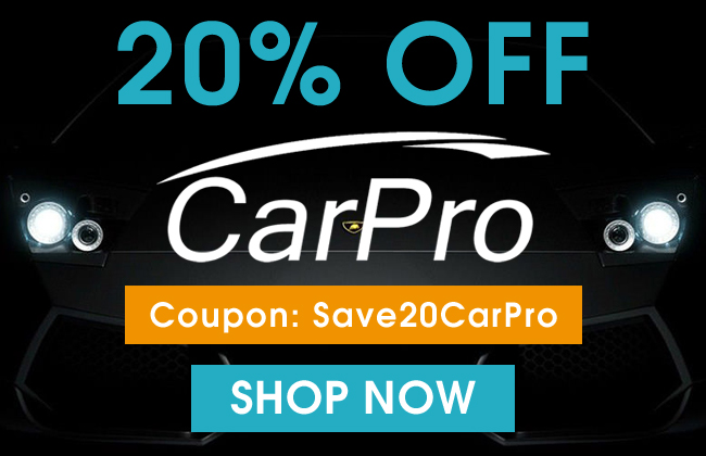 20% Off CarPro - Coupon: Save20CarPro - Shop Now