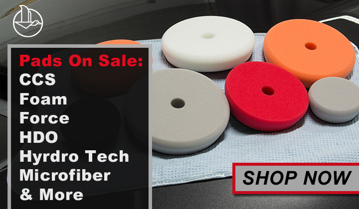Pads On Sale: CCS, Foam, Force, HDO, Hyrdro Tech, Microfiber, & More- Shop Now