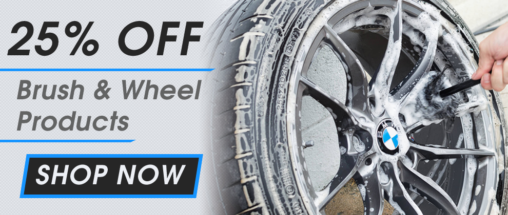 25% Off Brush & Wheel Products! Shop Now