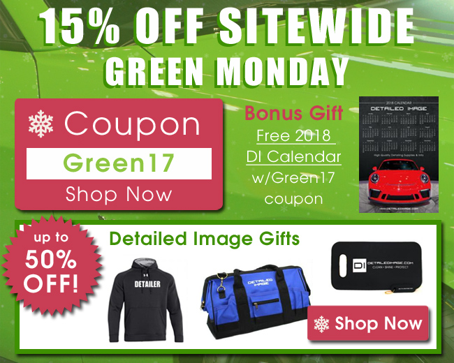 15% Off Sitewide Green Monday Coupon Green17 - Bonus Gift Free 2018 DI Calendar with Green17 coupon - Up To 50% Off Detailed Image Gifts - Shop Now