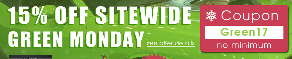 15% Off Sitewide Green Monday - Coupon Green17 - no minimum - see offer details