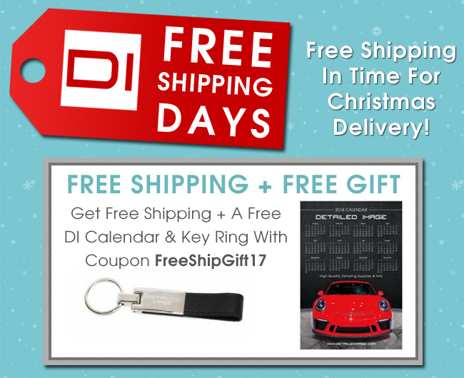 Free Shipping Days - Free Shipping + Free Gift - Get Free Shipping Plus A Free DI Calendar And Key Ring With Coupon FreeShipGift17 - Free Shipping In Time For Christmas Delivery