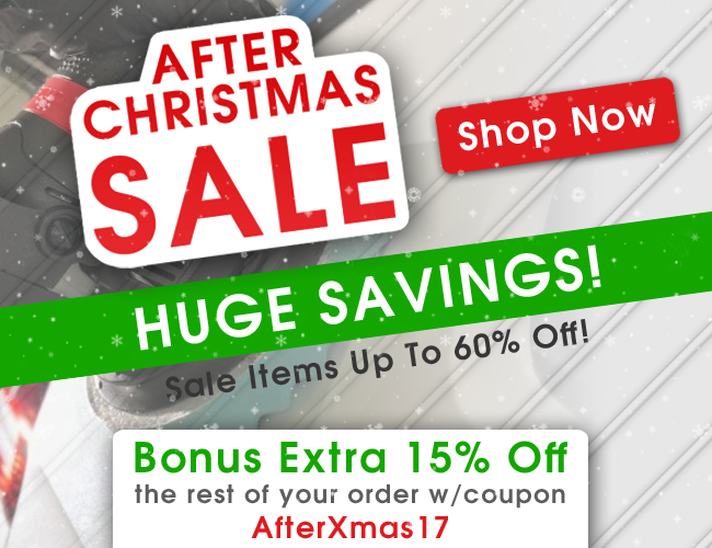 After Christmas Sale - Huge Savings! Sale Items Up To 60% Off! - Bonus Extra 15% Off The Rest Of Your Order With Coupon AfterXmas17 - Shop Now