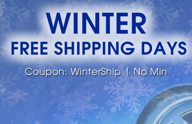 Winter Free Shipping Days - Coupon: WinterShip - No Min
