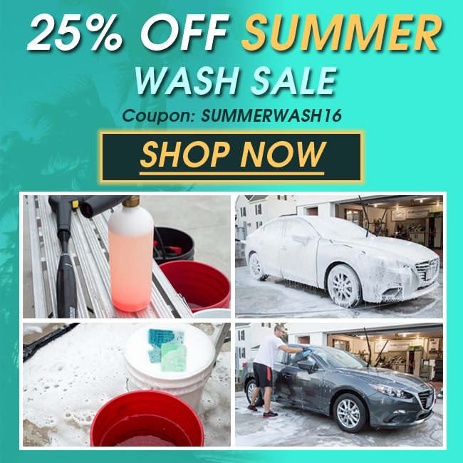 25% Off Summer Wash Sale - Coupon SUMMERWASH16 - Shop Now