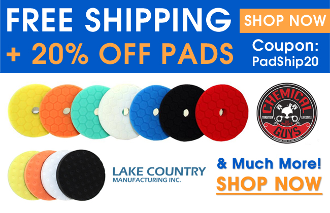 Free Shipping + 20% Off Pads - Coupon PadShip20 - Shop Now