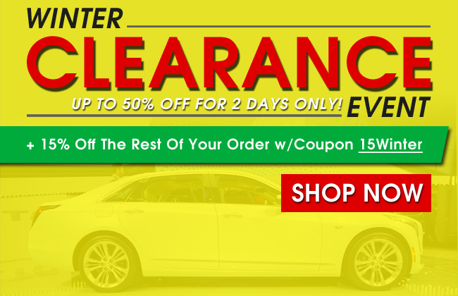 Winter Clearance Event - Up To 50% Off For 2 Days Only + 15% Off The Rest Of Your Order With Coupon 15Winter - Shop Now