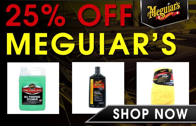 25% Off Meguiar's - Shop Now