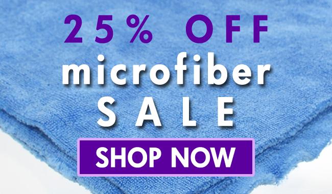 25% Off Microfiber