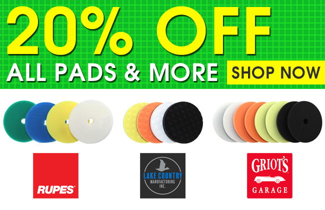 20% Off All Pads & More - Shop Now