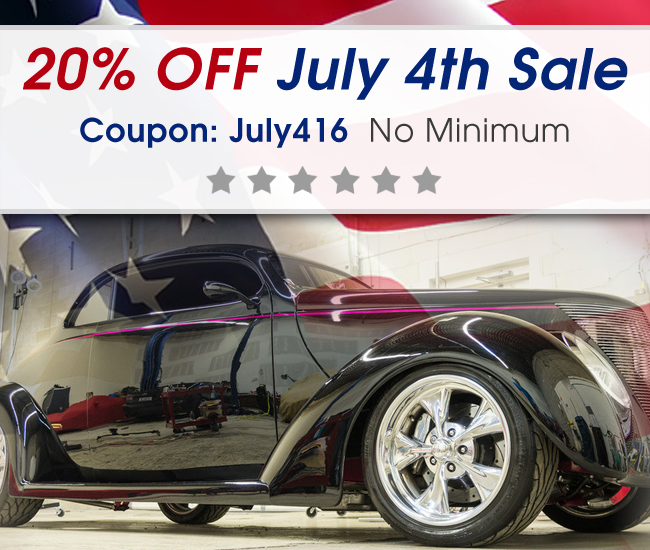 20% Off July 4th Sale! Coupon: July416
