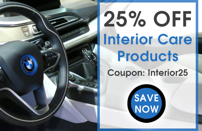 25% Off Interior Care Products - Coupon Interior25 - Save Now