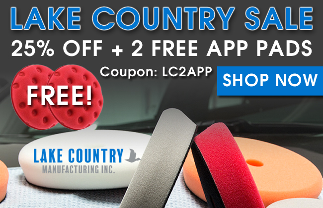 Lake Country Sale - 25% Off + 2 Free App Pads - Coupon: LC2APP - Shop Now