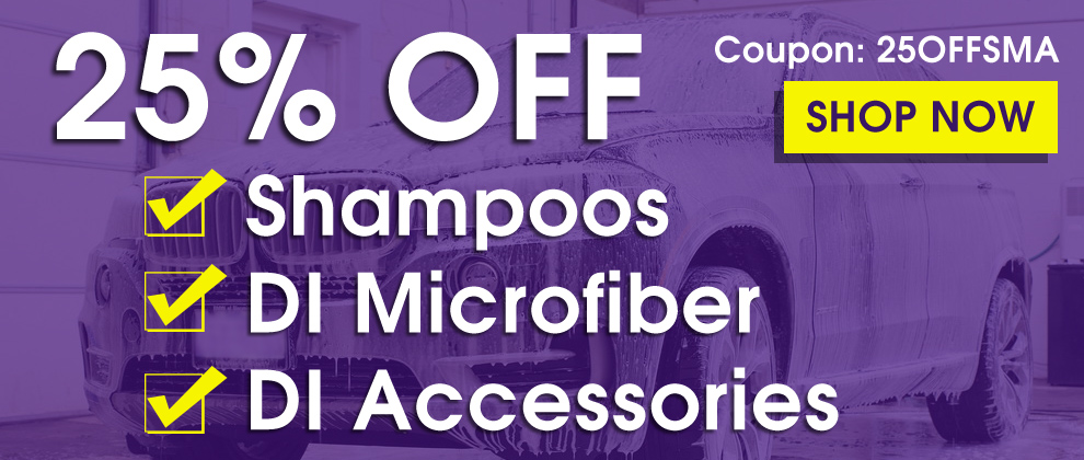 25% Off Shampoos, DI Microfiber & Accessories - Coupon 25OFFSMA - Shop Now