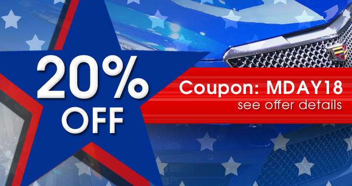 20% Off Coupon MDAY18 - see offer details