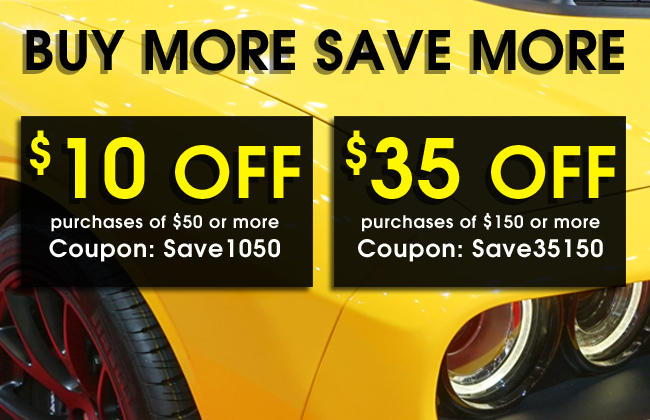 Buy More Save More - $10 Off purchases of $50 or more coupon SAVE1050 - $35 Off purchases of $150 or more coupon SAVE35150 - see offer details
