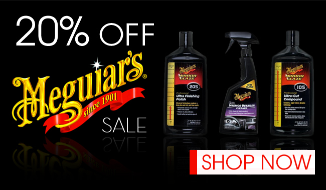 20% Off Meguiar's Sale