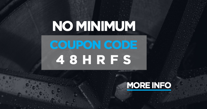 No Minimum - Coupon Code 48HRFS - more info