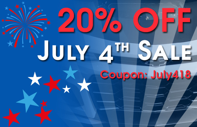 20% Off July 4th Sale - Coupon July418 - see offer details