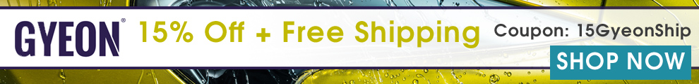 Gyeon: 15% Off + Free Shipping - Coupon 15GyeonShip - Shop Now