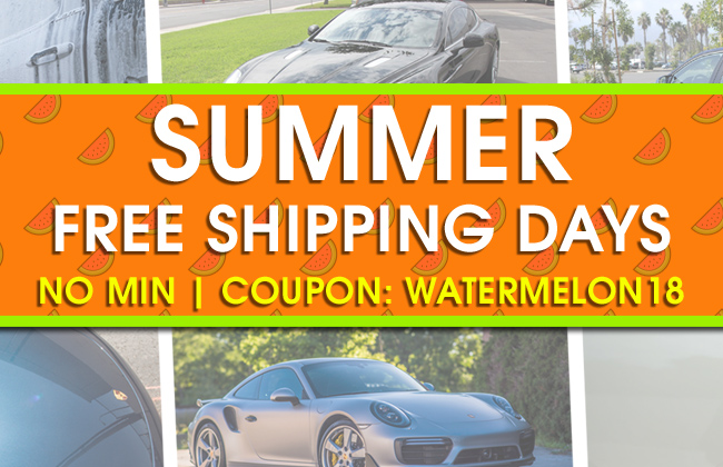 Summer Free Shipping Days - No Min - Coupon Watermelon18