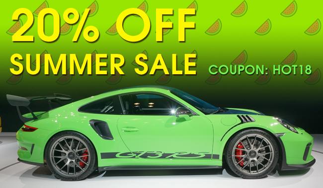 20% Off Summer Sale - Coupon: Hot18 - see offer details