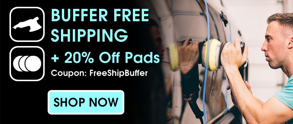 Buffer Free Shipping + 20% Off Pads - Coupon FreeShipBuffer - Shop Now
