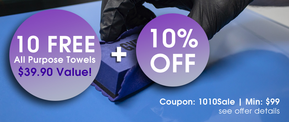 10 Free All Purpose Towels $39.90 Value + 10% Off - Coupon 1010Sale - Min $99 - see offer details
