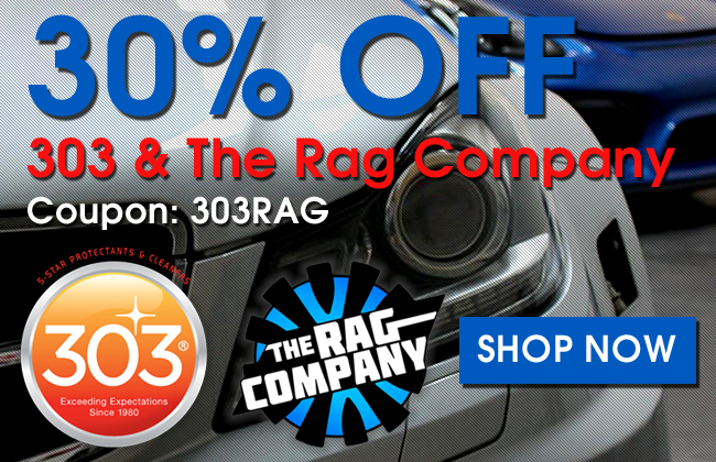 30% Off 303 & The Rag Company - Coupon 303RAG - Shop Now