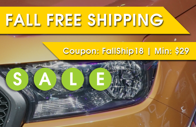 Fall Free Shipping Sale - Coupon FallShip18 - Min: $29 - Plus One Day Only Sale Items